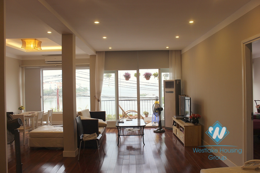High quality apartment with 3 bedrooms for rent in Tay Ho area.