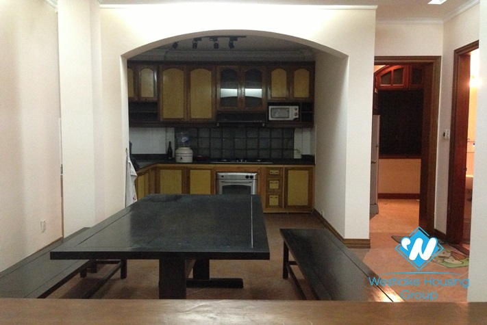 French style house available for rent in Truc Bach area, Ba Dinh, Hanoi