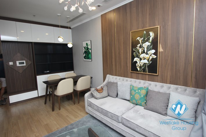 Bright 2 bedroom apartment for rent in Vinhomes Gardenia My Dinh