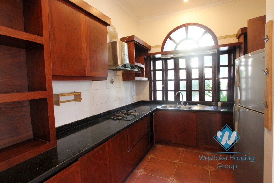 Rental house with 4 bedroom and garden in Ciputra Ha Noi
