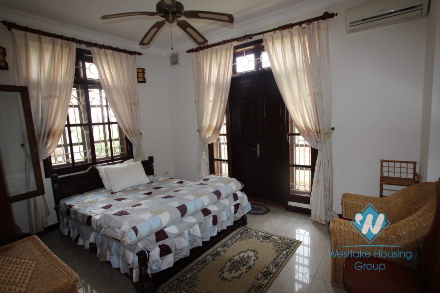 Nice house with furnished for rent in Block C, Ciputra, Tay Ho, Ha Noi