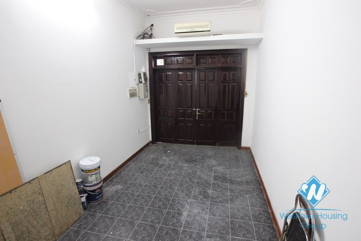 Large unfurnished house available for rent in Cau Giay district, Hanoi.