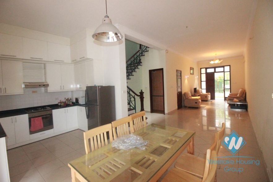 Nice house with 04 bedrooms for rent in Ciputra area, Tay Ho, Hanoi