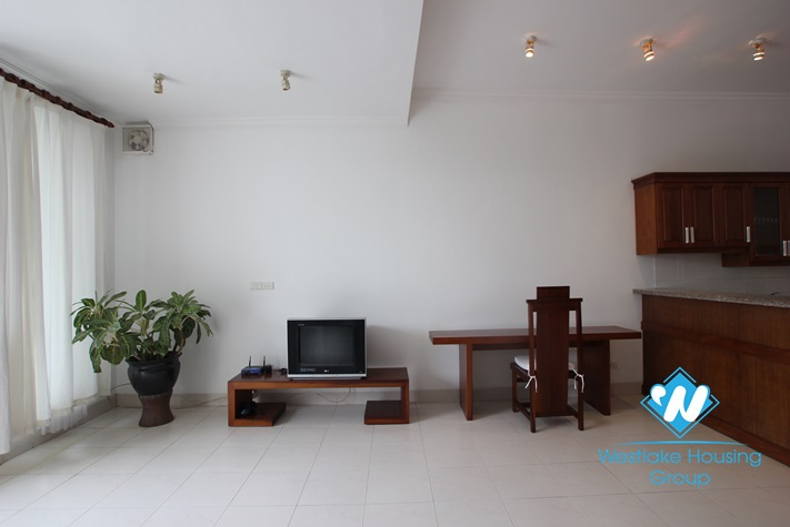 Big size one bedroom apartment for rent in Truc Bach