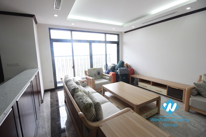 Furnished, bright 03 bedrooms  apartment for rent in Platinum Tower, Ba Dinh, Hanoi