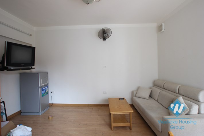 Cheap and high floor apartment with separated bedroom  for rent  in Truc Bach Ba Dinh Hanoi