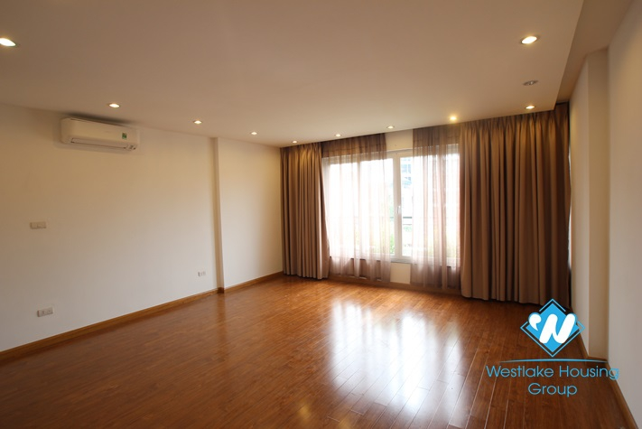 Brand  new two-bedroom apartment for rent in Truc Bach area, Ba Dinh, Hanoi