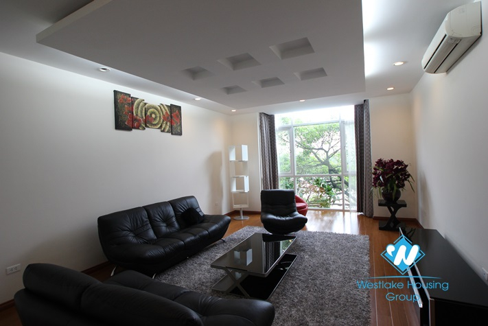 Duplex 2 bedroom apartment for rent in Truc Bach