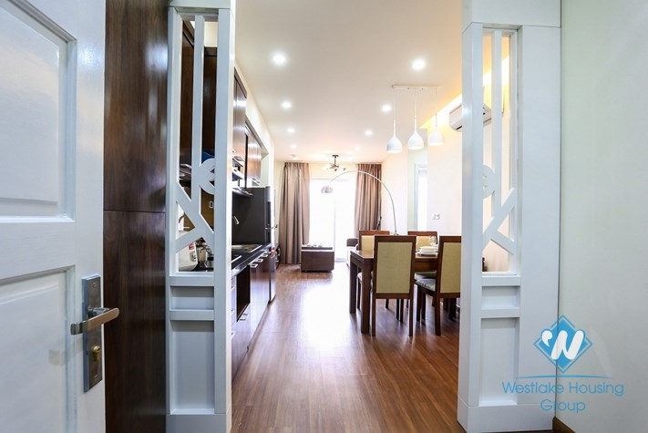 Beautiful apartment for rent in Hoa Binh Green, Ba Dinh District, Ha Noi