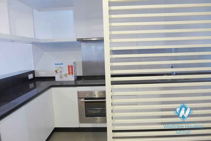 Newly renovated apartment for rent in Hoa Binh Green Towers, Ba Dinh, Hanoi