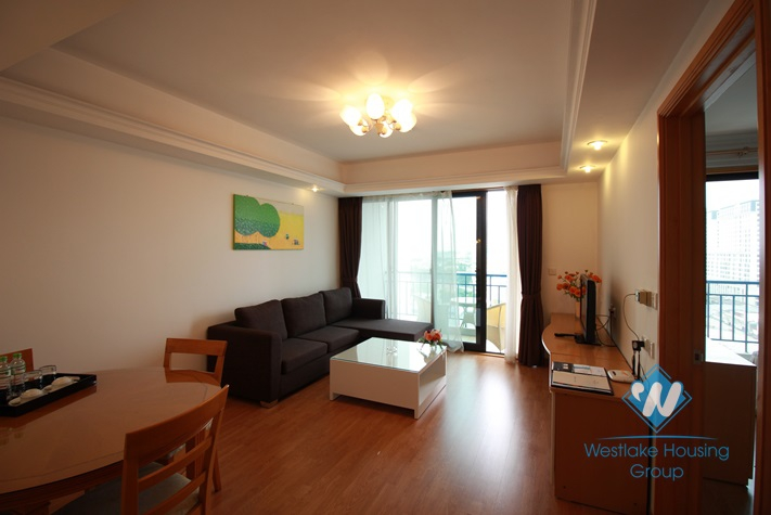 Furnished, gorgeous high-rise apartment for rent in Ba Dinh, Hanoi