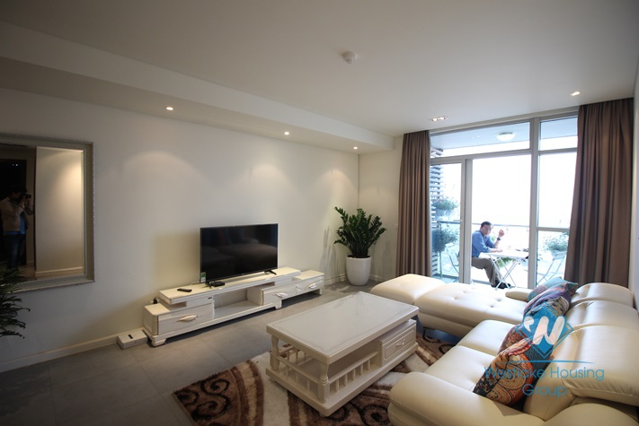 New and clean two bedrooms apartment for rent in Watermark building, Tay Ho, Ha Noi