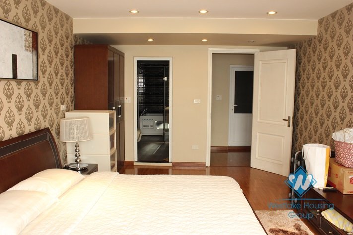Modern and high quality apartment for lease in Westlake area, Hanoi