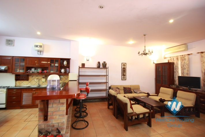 Nice 4 stories house for rent in Nghi Tam village, Tay Ho, Hanoi