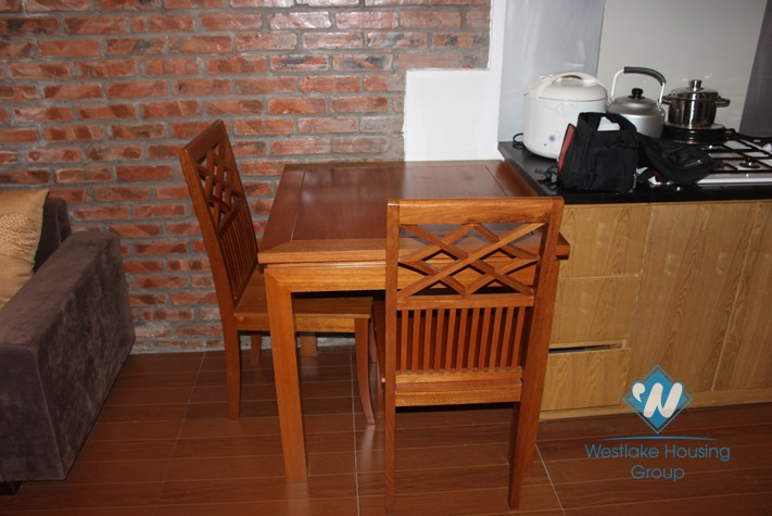 Cosy and nice apartment with 1 bedroom for lease in tay Ho, District