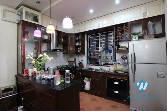 Beautiful house with swimming pool for rent near Lotte, Ba Dinh, Hanoi
