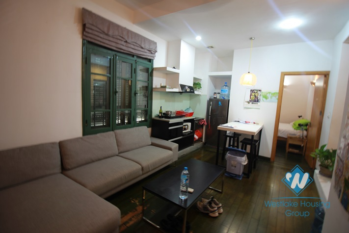 Modern apartment with 02 bedrooms for rent in Hoan Kiem District, Hanoi