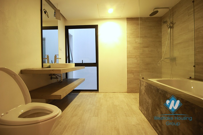 Brand new and modern house for rent in Tay Ho district