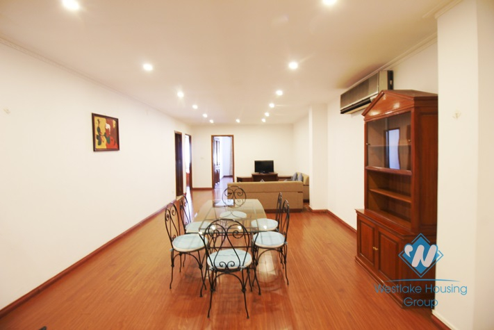 Furnished, 02 bedrooms apartment for rent in Hoan Kiem District, Hanoi