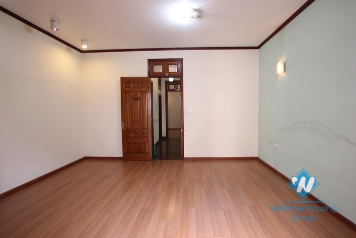 Large house on the street for rent in Linh Lang street, Ba Dinh district, Hanoi