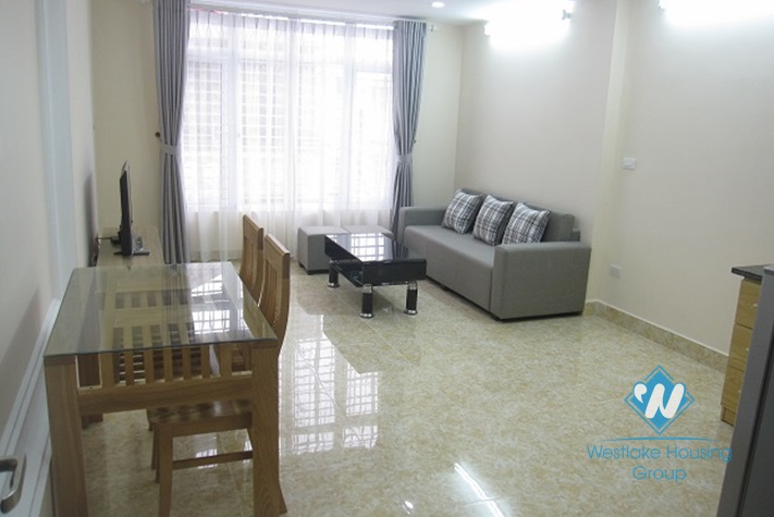 Brandnew apartment with separate bedroom for rent in Ba Dinh, Hanoi