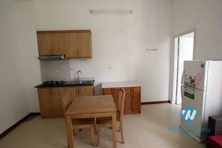 Beautiful studio apartment for rent in Dang Thai Mai, Tay Ho, Hanoi with cheap price of 300 USD per month