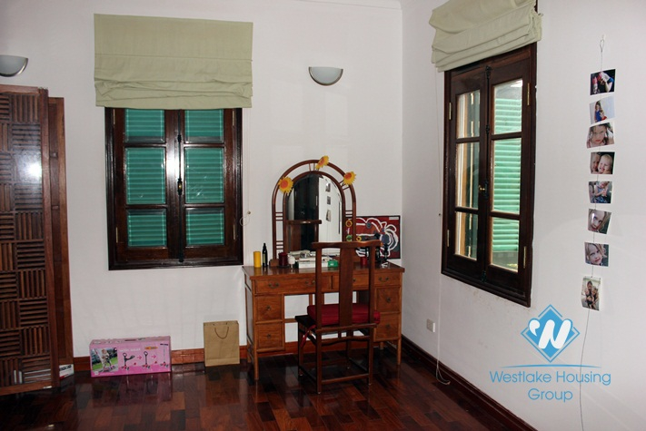 Charming house with 4 bedrooms, big courtyard for rent in To Ngoc Van st, Westlake area