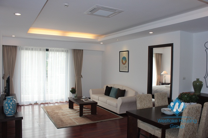 High quality apartment available for lease in Elegant Suites, Dang Thai Mai, Tay Ho, Hanoi