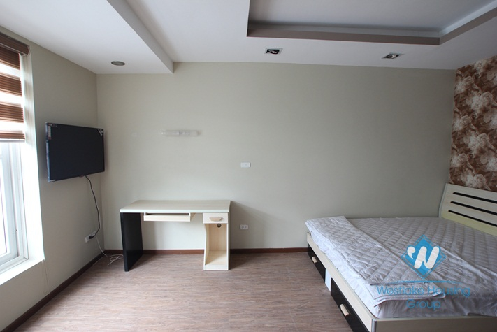New, bright 2 bedroom apartment for rent in Truc  Bach area, Ba Dinh, Hanoi