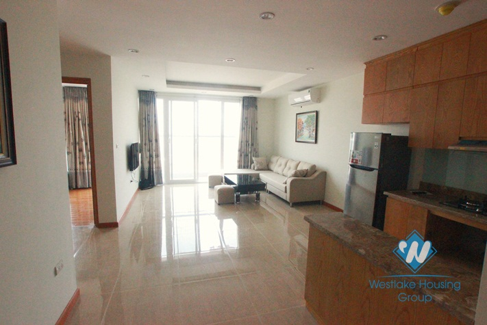 Brand new 02 bedrooms apartment for rent in Lac Long Quan Street, Tay Ho, Hanoi