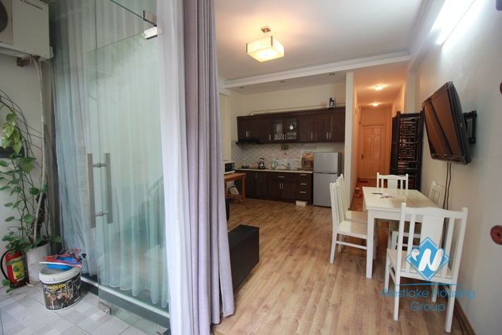 Cheap 02 bedrooms apartment for rent in Dang Thai Mai Street, Tay Ho District, Ha Noi