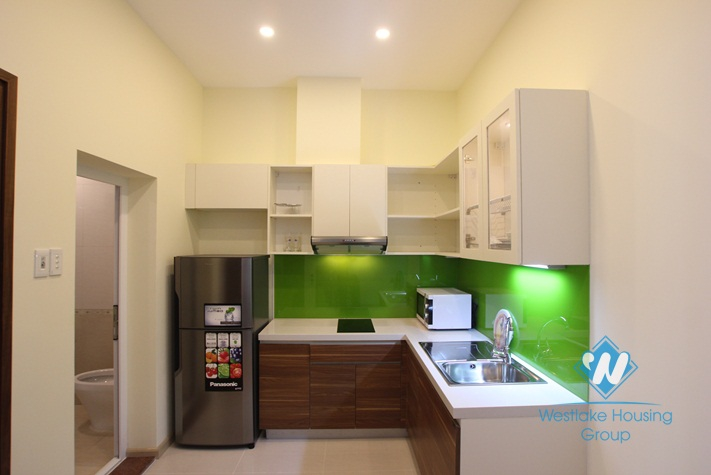 Modern one bedroom apartment for rent in Xuan Dieu st, Tay Ho, Ha Noi