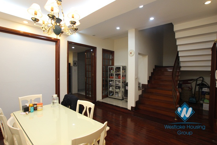 Luxury house with nice garden for rent in Cau Giay district, Ha Noi