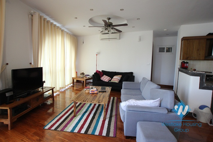 Lake view 02 bedroom apartment for rent in Westlake area, Hanoi- fully furnished