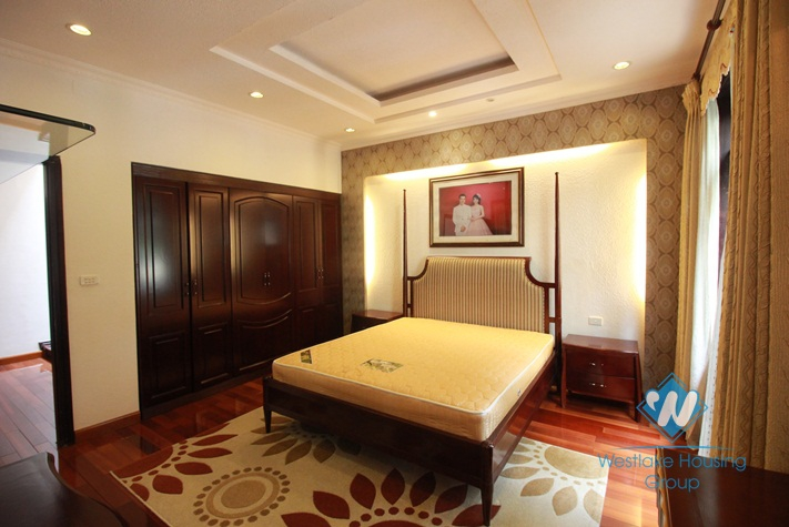 Beautiful house for rent in Ciputra area, Tay Ho, Ha Noi - Fully furnished