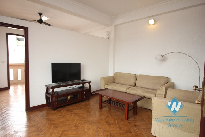 Super spacious, newly renovated lake view apartment for rent in Truc Bach, Ba Dinh