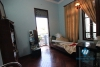 Spacious house for rent in Lac Long Quan Street, Tay Ho District, Hanoi