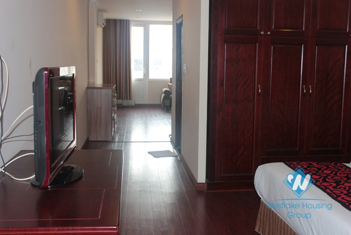 One bedroom apartment for rent in Au Co street, Tay Ho, Hanoi