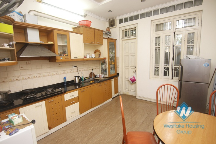An nicely affordable house for rent on Van Cao, Ba Dinh
