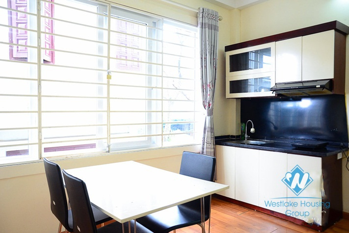 Cheap, separate 01 bedroom apartment for rent in Thuy Khue Street, Tay Ho, Hanoi