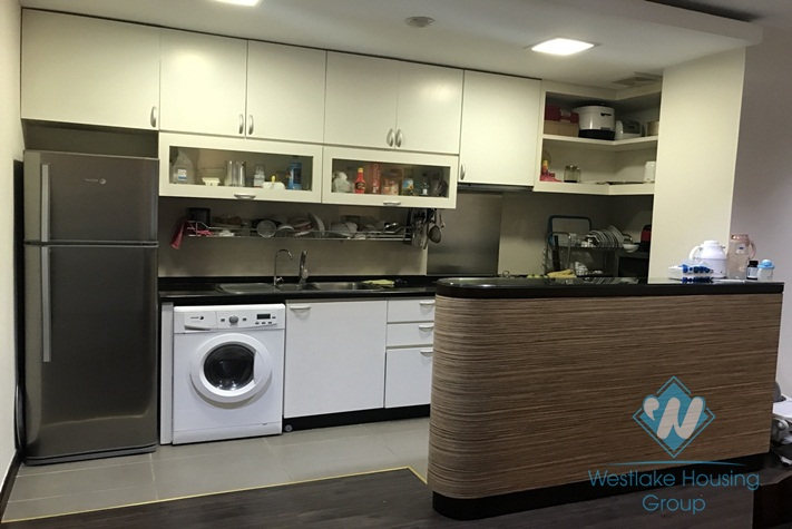 Pretty 3 bedroom apartment in Buoi street, Ba Dinh district, Ha Noi