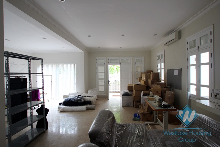 Vacant house available for rent in Ciputra, Tay Ho district, Hanoi