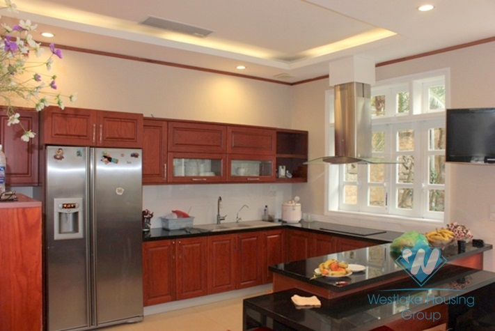 Nice and bright house for rent in Ciputra, Tay Ho, Ha Noi