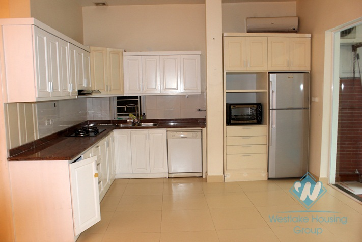 Nice house with swimming pool for rent in Tay ho District.