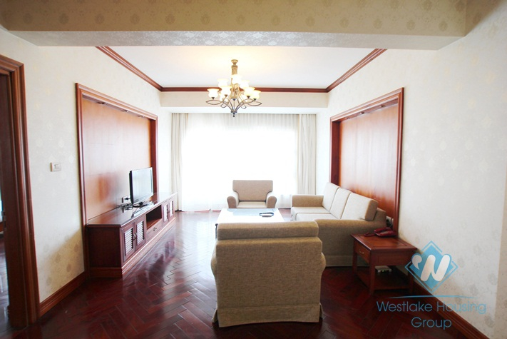 Beautiful serviced apartment for rent in Tay Ho District, Ha Noi