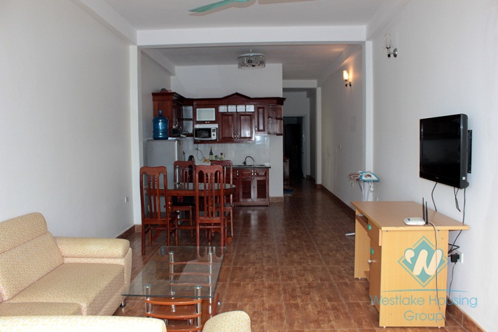 Apartment with lots of natural light for rent in Au Co Street, Tay Ho, Hanoi