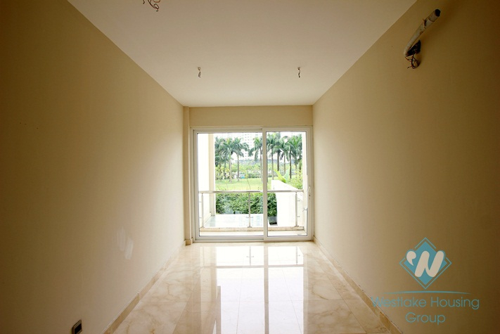 Brand new villa for rent in Ciputra, large garden & great view