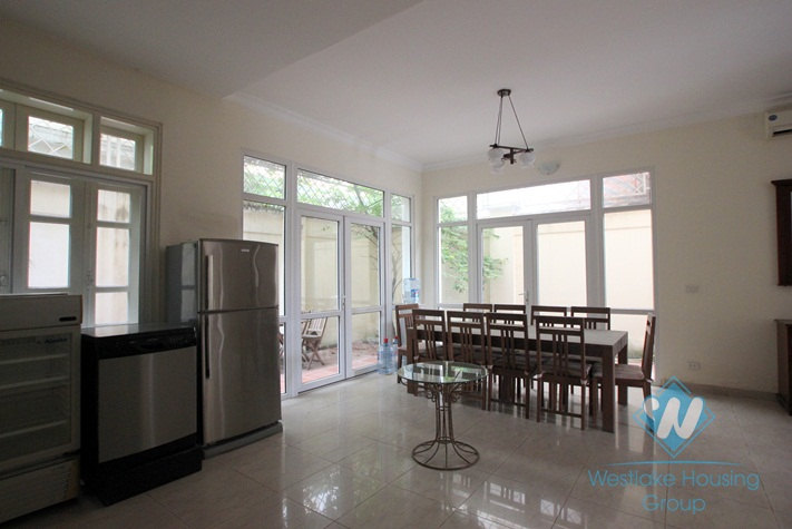 Fully furnished house rental in Ciputra, Tay Ho, Hanoi