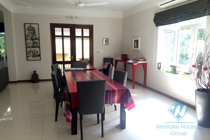 High quality house with 4 bedrooms and swimming pool for rent in Tay Ho, Hanoi, Vietnam