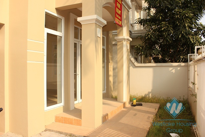 Unfurnished house for lease in Ciputra, Tay Ho, Hanoi